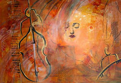 Allegro Print by Doris Charest