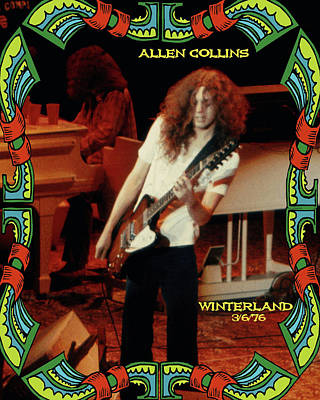 A C Winterland 1976 Art Print by Ben Upham