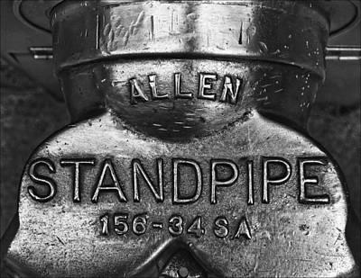 Allen Standpipe Art Print by Robert Ullmann