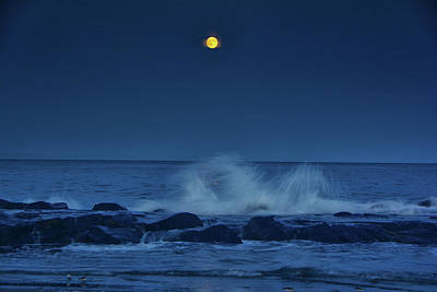 Photograph - Allenhurt Beach by Raymond Salani III