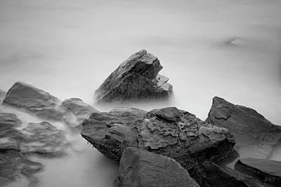 Photograph - Allens Pond II Bw by David Gordon