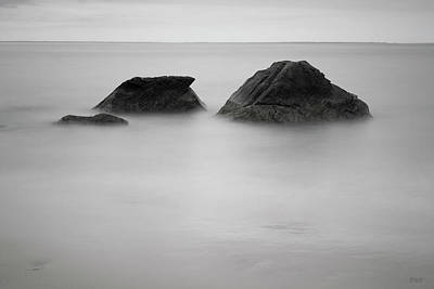 Photograph - Allens Pond IIi Bw by David Gordon