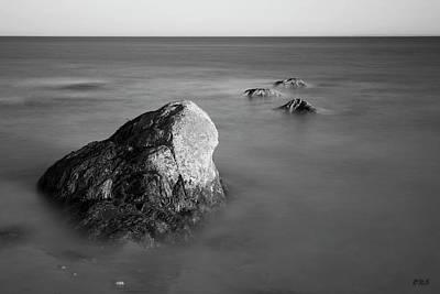 Photograph - Allens Pond Ix Bw by David Gordon