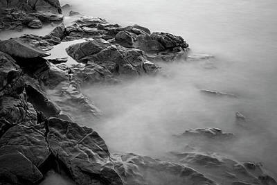 Photograph - Allens Pond Vi Bw by David Gordon