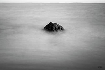 Photograph - Allens Pond Xi Bw by David Gordon