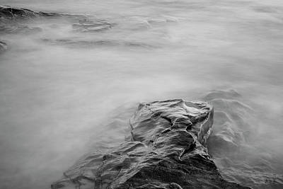Art Print featuring the photograph Allens Pond Xii Bw by David Gordon