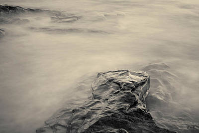 Art Print featuring the photograph Allens Pond Xii Toned by David Gordon