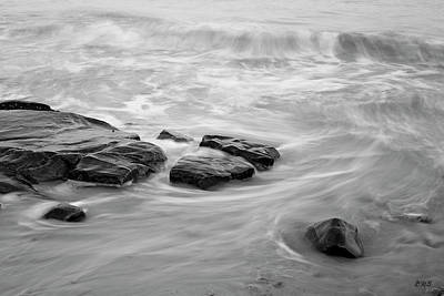 Art Print featuring the photograph Allens Pond Xiii Bw by David Gordon