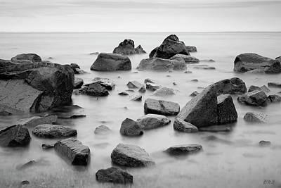Photograph - Allens Pond Xiv Bw by David Gordon