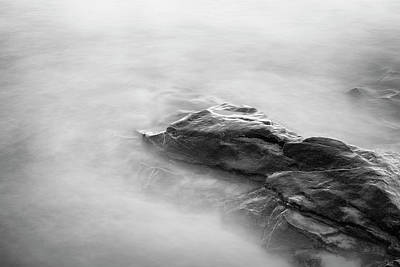 Photograph - Allens Pond Xv Bw by David Gordon