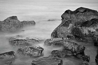 Photograph - Allens Pond Xx Bw by David Gordon