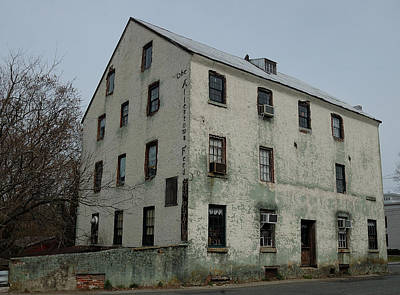 Architecture Photograph - Allentown Gristmill by Steven Richman