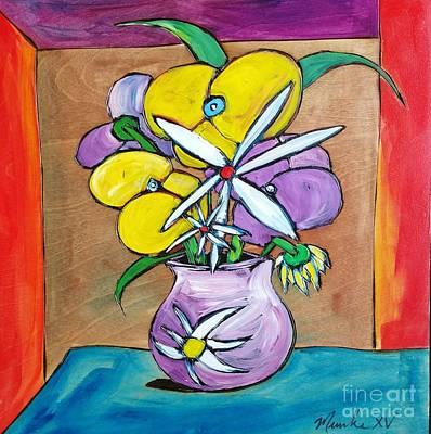 Painting - Allergies #61 by John Stillmunks