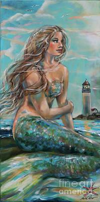 Painting - Allexis by Linda Olsen