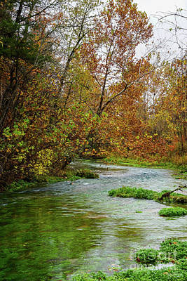 Photograph - Alley Autumn Waters by Jennifer White