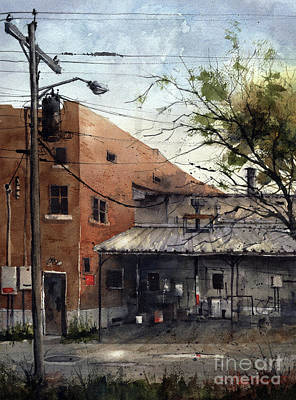 Painting - Alley Behind The Ritz by Tim Oliver