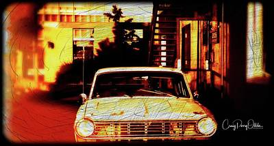 Photograph - Alley Car by Craig Perry-Ollila