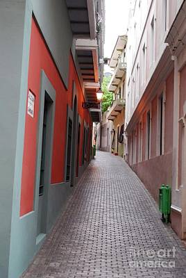 Photograph - Alley by Gary Wonning