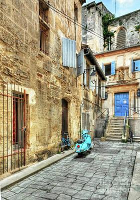 Photograph - Alley In Arles by Mel Steinhauer