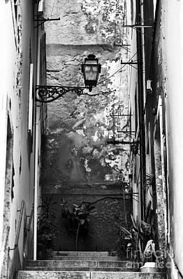 Alley Light Print by John Rizzuto
