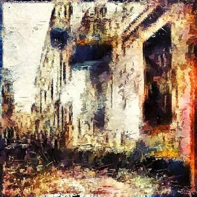 Digital Art - Alley by Matthew Daigle