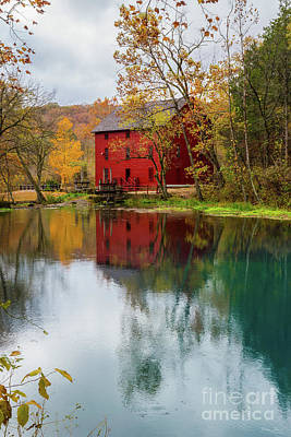 Photograph - Alley Mill Autumn by Jennifer White