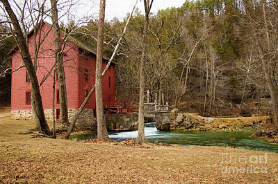 Photograph - Alley Mill by Reva Dow