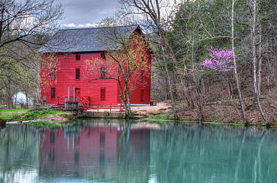 Photograph - Alley Mill by Steve Stuller