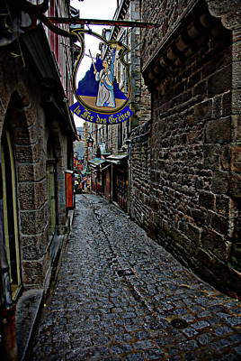 Photograph - Alley On Mont Saint Michel by Hugh Smith
