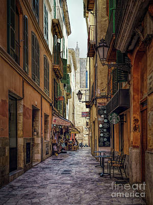 Photograph - Alley Palma De Mallorca II by Daniel Heine
