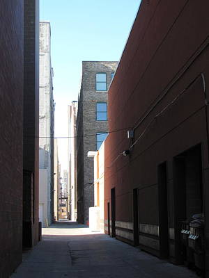 Photograph - Alley Photo 1 by Anita Burgermeister