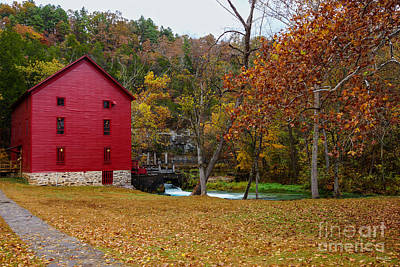 Photograph - Alley Roller Mill by Jennifer White