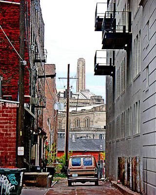 Photograph - Alley by Steve Karol