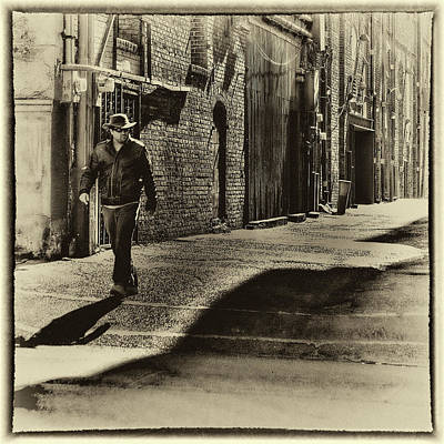 Seattle Photograph - Alley Stroll II by David Patterson