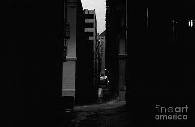 Photograph - Alley Urban Street Scene by Jim Corwin
