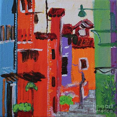 Painting - Alley Walk by Kim Nelson