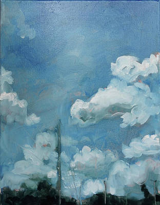 Painting - Alley Way/exaltation by Laura Wilson