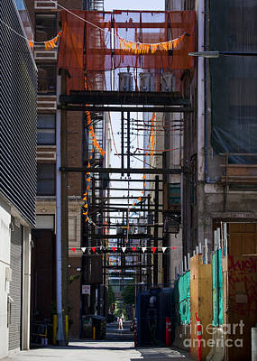 Photograph - Alley Ways by Chris Dutton