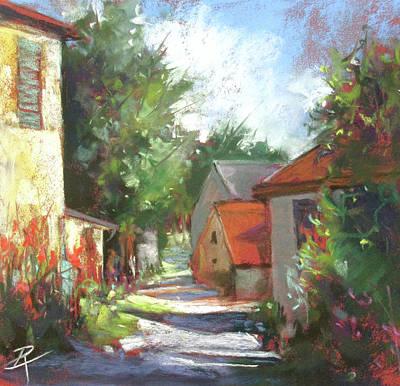 Painting - Alleyway Charm 3. by Rae Andrews