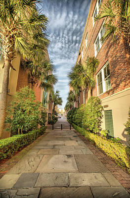 Photograph - Alleyway In Chaleston by Lynne Jenkins
