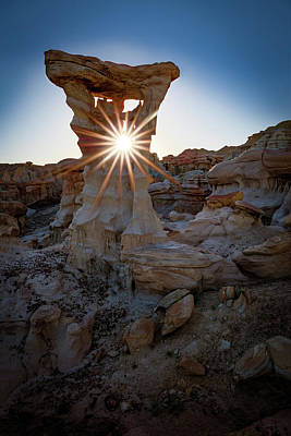 New Mexico Photograph - Allien's Throne by Edgars Erglis