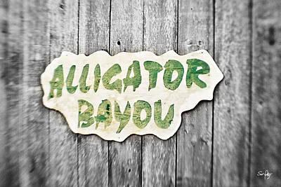 Alligator Bayou Photograph - Alligator Bayou by Scott Pellegrin