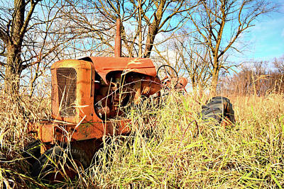 Photograph - Allis Chalmers by Bonfire Photography