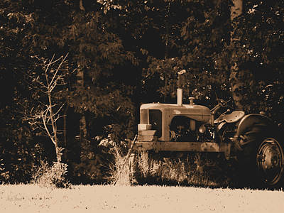 Photograph - Allis Chalmers by Scott Hovind