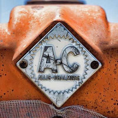 Allis-chalmers Vintage Logo Art Print