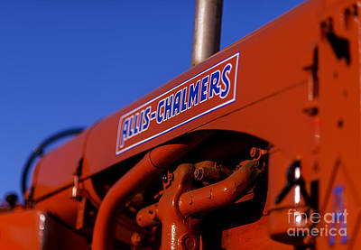 Photograph - Allis-chalmers Vintage Tractor by Art Whitton