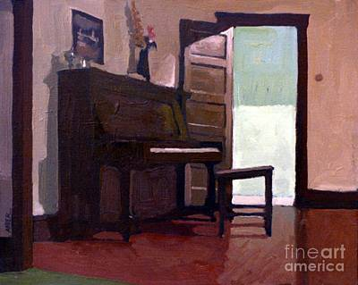 Painting - Allison's Piano by Donald Maier