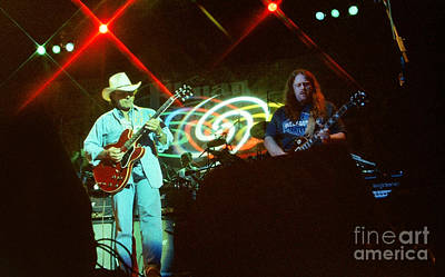 The Allman Brothers Photograph - Allman Brothers-dickey-1048 by Gary Gingrich Galleries
