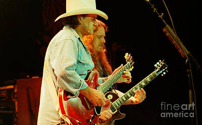 Gregg Allman Photograph - Allman Brothers-dickey-warren-1138 by Gary Gingrich Galleries