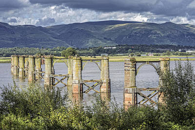 Photograph - Alloa Swing Bridge by Jeremy Lavender Photography